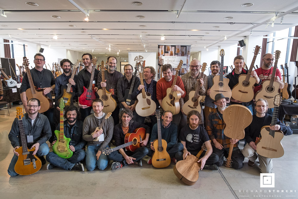 Local Wood Challenge - Guitares au Beffroi