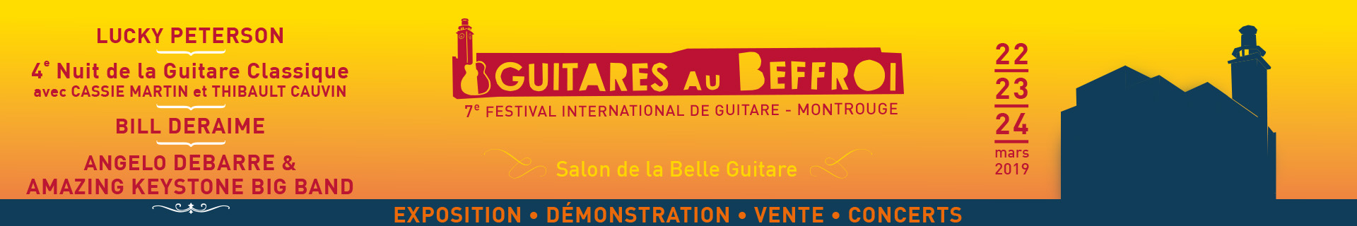 Festival Guitares au Beffroi 2019
