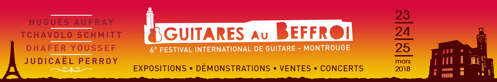 festival Guitares au Beffroi 2018 Paris